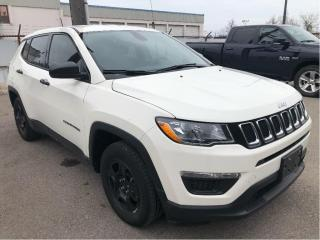 Used 2018 Jeep Compass Sport 4x2 Automatic w/Bluetooth, Low KMS for sale in Hamilton, ON