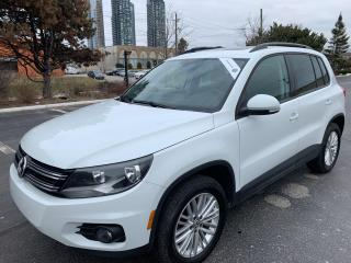 Used 2016 Volkswagen Tiguan Special Edition PANORAMIC SUNROOF 5 TO CHOOSE for sale in Concord, ON