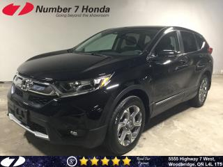 Used 2018 Honda CR-V EX-L| Leather| Sunroof| All-Wheel Drive| for sale in Woodbridge, ON