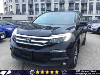 Used 2018 Honda Pilot EX-L| Navi| Leather| All-Wheel Drive| for sale in Woodbridge, ON