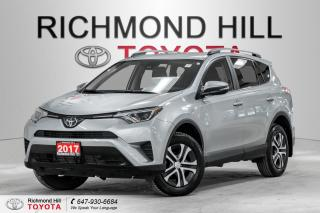 Used 2017 Toyota RAV4 *No Payments for 6 Months!!! - LE FWD for sale in Richmond Hill, ON