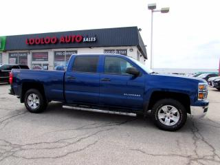 Used 2014 Chevrolet Silverado 1500 1LT Crew Cab 4WD V8 CAMERA BLUETOOTH CERTIFIED for sale in Milton, ON