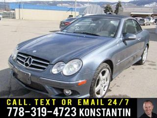 Used 2007 Mercedes-Benz CLK 5.5L for sale in Kelowna, BC