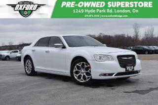Used 2016 Chrysler 300C Platinum - One Owner, Well Equipped, Low Kms for sale in London, ON
