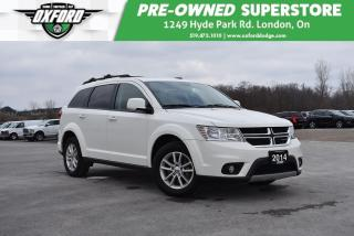 Used 2014 Dodge Journey SXT - DVD, One Owner, Well Maintained for sale in London, ON