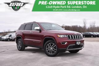 Used 2018 Jeep Grand Cherokee Limited - Heated Front & Back, Parksense for sale in London, ON