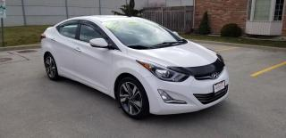 Used 2015 Hyundai Elantra Limited / SUNROOF / BACK-UP CAMERA for sale in Mississauga, ON