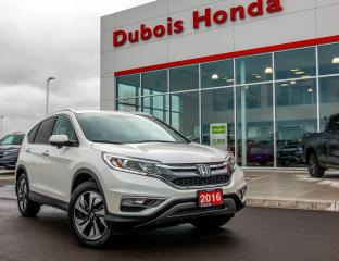 Used 2016 Honda CR-V Touring for sale in Woodstock, ON