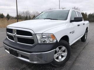 Used 2016 RAM 1500 Tradesman Crew Cab SWB 4WD for sale in Cayuga, ON