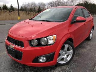 Used 2015 Chevrolet Sonic LT 2WD for sale in Cayuga, ON