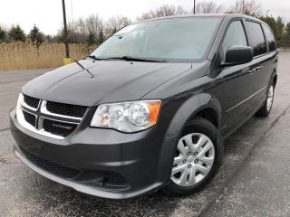 Used 2017 Dodge GR CARAVAN SXT 2WD for sale in Cayuga, ON
