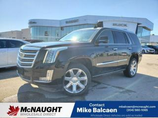 Used 2015 Cadillac Escalade Platinum for sale in Winnipeg, MB