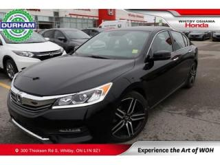 Used 2016 Honda Accord w/Honda Sensing for sale in Whitby, ON