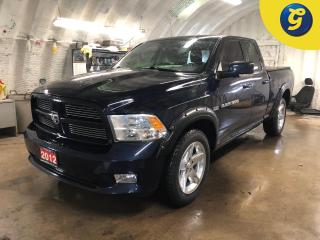 Used 2012 RAM 1500 Sport * Quad Cab * 4WD * 5.7L HEMI * Power Driver Seat * Tow hooks * Tow hitch w/ 6 pin connect * Tow/Haul assist * Bed liner * Lockable tailgate * Ti for sale in Cambridge, ON