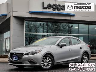 Used 2016 Mazda MAZDA3 GS- AUTOMATIC, BLUETOOTH, HEATED SEATS, ALLOY WHEELS for sale in Burlington, ON
