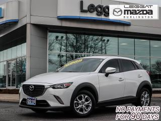 Used 2016 Mazda CX-3 GS- AUTOMATIC, BLUETOOTH, HEATED SEATS, REAR CAMERA for sale in Burlington, ON