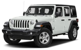 New 2020 Jeep Wrangler Unlimited Rubicon for sale in Surrey, BC