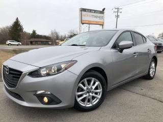 Used 2015 Mazda MAZDA3 GS Loaded with Sunroof, Heated Seats, 6-Speed Manual and BackupCam! Pwr Windows, Cruise, Air, Alloy Whe for sale in Kemptville, ON