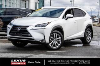 Used 2017 Lexus NX 200t **LUXURY** *NAVIGATION*ANGLE MORT*CAMERA DE RECUL*BANCS CHAUFFANTS ET VENTILÉ*TOIT*HAYON AUTOMATIQUE*SONAR* for sale in Montréal, QC