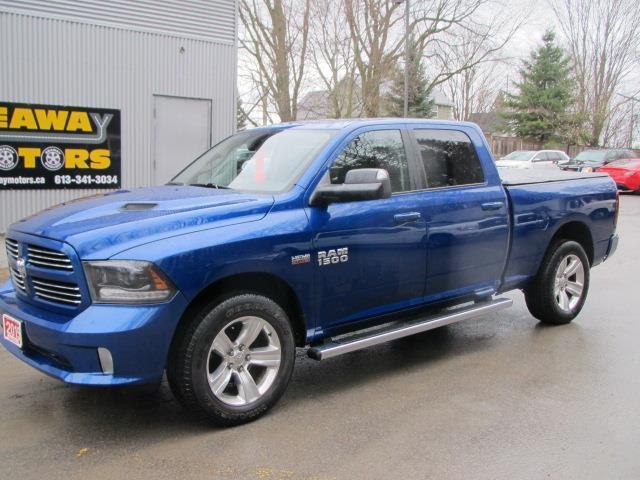 2015 RAM 1500 SPORT CREW CAB LWB 4