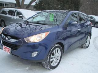 Used 2013 Hyundai Tucson Limited Auto AWD for sale in Brockville, ON