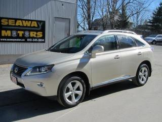 Used 2013 Lexus RX 350 AWD for sale in Brockville, ON