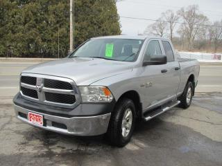 Used 2013 RAM 1500 TRADESMAN QUAD CAB 4 for sale in Brockville, ON