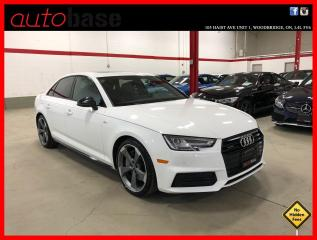 Used 2018 Audi A4 Sedan S-LINE BLACK PROGRESSIV for sale in Vaughan, ON
