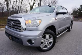 Used 2009 Toyota Tundra LIMITTED / CREWMAX / SUPER CLEAN / SOLID TRUCK for sale in Etobicoke, ON