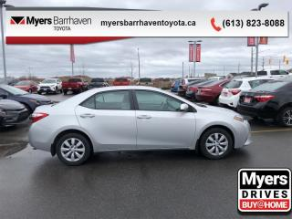 Used 2016 Toyota Corolla LE  -  Heated Seats -  Bluetooth - $98 B/W for sale in Ottawa, ON