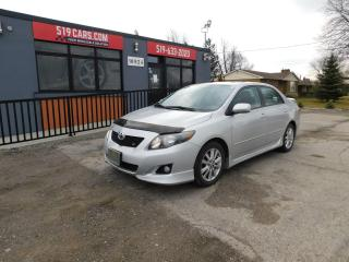 Used 2009 Toyota Corolla S for sale in St. Thomas, ON