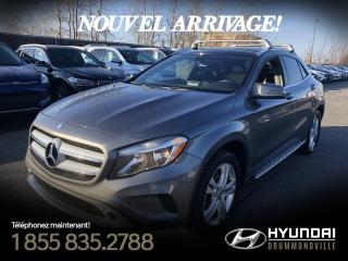Used 2015 Mercedes-Benz GLA 4MATIC + GARANTIE +NAVI + TOIT + CUIR + for sale in Drummondville, QC