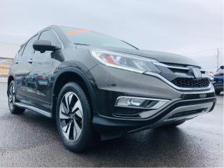 Used 2016 Honda CR-V AWD 5dr Touring GPS Toit Cuir for sale in Lévis, QC