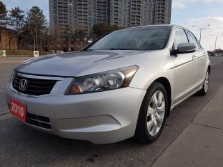 Used 2010 Honda Accord EX-L-EXTRA CLEAN-LEATHER-SUNROOF-AUX-ALLOYS for sale in Scarborough, ON