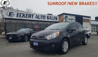 Used 2013 Kia Rio SX/DON'T PAY FOR 6 MONTHS OAC!! for sale in Barrie, ON