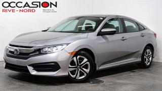 Used 2017 Honda Civic LX BLUETOOTH+CAM.RECUL+SIEGES.CHAUFFANTS for sale in Boisbriand, QC