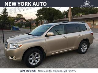 Used 2008 Toyota Highlander for sale in Winnipeg, MB