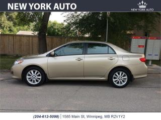 Used 2010 Toyota Corolla LE for sale in Winnipeg, MB