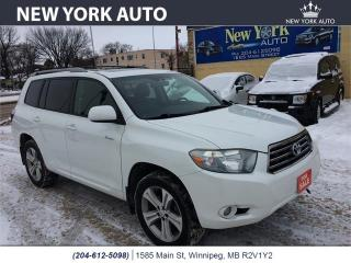 Used 2008 Toyota Highlander Sport for sale in Winnipeg, MB
