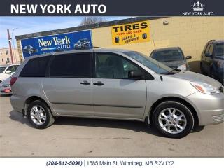 Used 2005 Toyota Sienna CE for sale in Winnipeg, MB