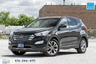 Used 2014 Hyundai Santa Fe Sport Limited|Navi|BackupCam|HtdSeats|Leather for sale in Bolton, ON