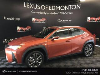 Used 2020 Lexus UX 250h F Sport Series 2 for sale in Edmonton, AB