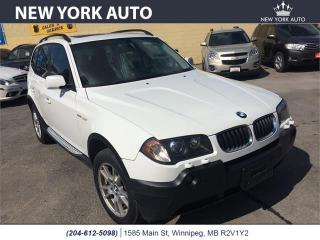 Used 2005 BMW X3 2.5i for sale in Winnipeg, MB