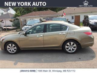 Used 2008 Honda Accord Sdn EX-L for sale in Winnipeg, MB