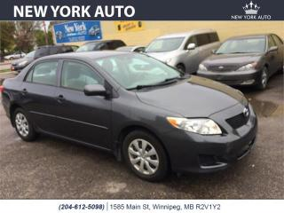Used 2010 Toyota Corolla for sale in Winnipeg, MB