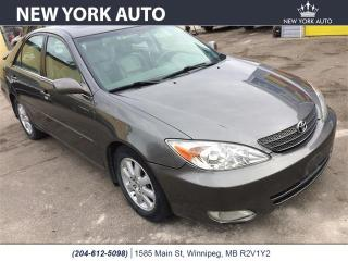 Used 2002 Toyota Camry for sale in Winnipeg, MB