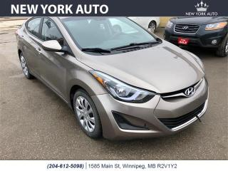 Used 2015 Hyundai Elantra for sale in Winnipeg, MB
