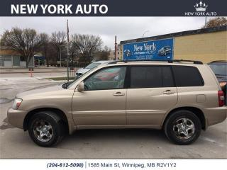 Used 2004 Toyota Highlander for sale in Winnipeg, MB