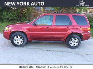 Used 2006 Ford Escape Limited for sale in Winnipeg, MB