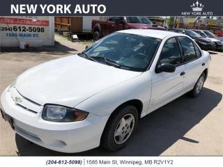 Used 2005 Chevrolet Cavalier for sale in Winnipeg, MB